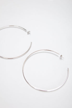 CISCO HOOP THIN [SILVER]