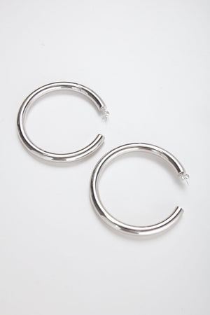CISCO HOOP THICK [SILVER]