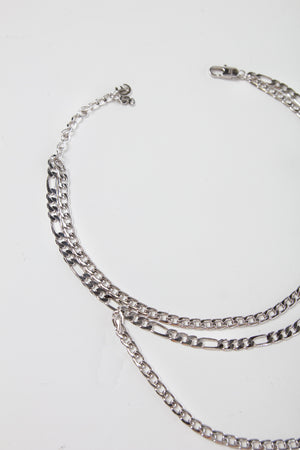 STACKED CHAIN [SILVER]