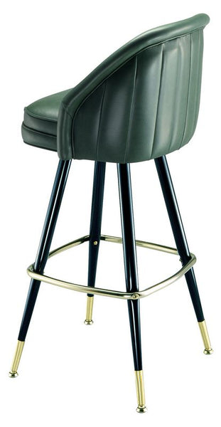 Channel Tufted Bar Stools