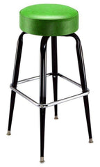 Cross Over Frame Bar Stools