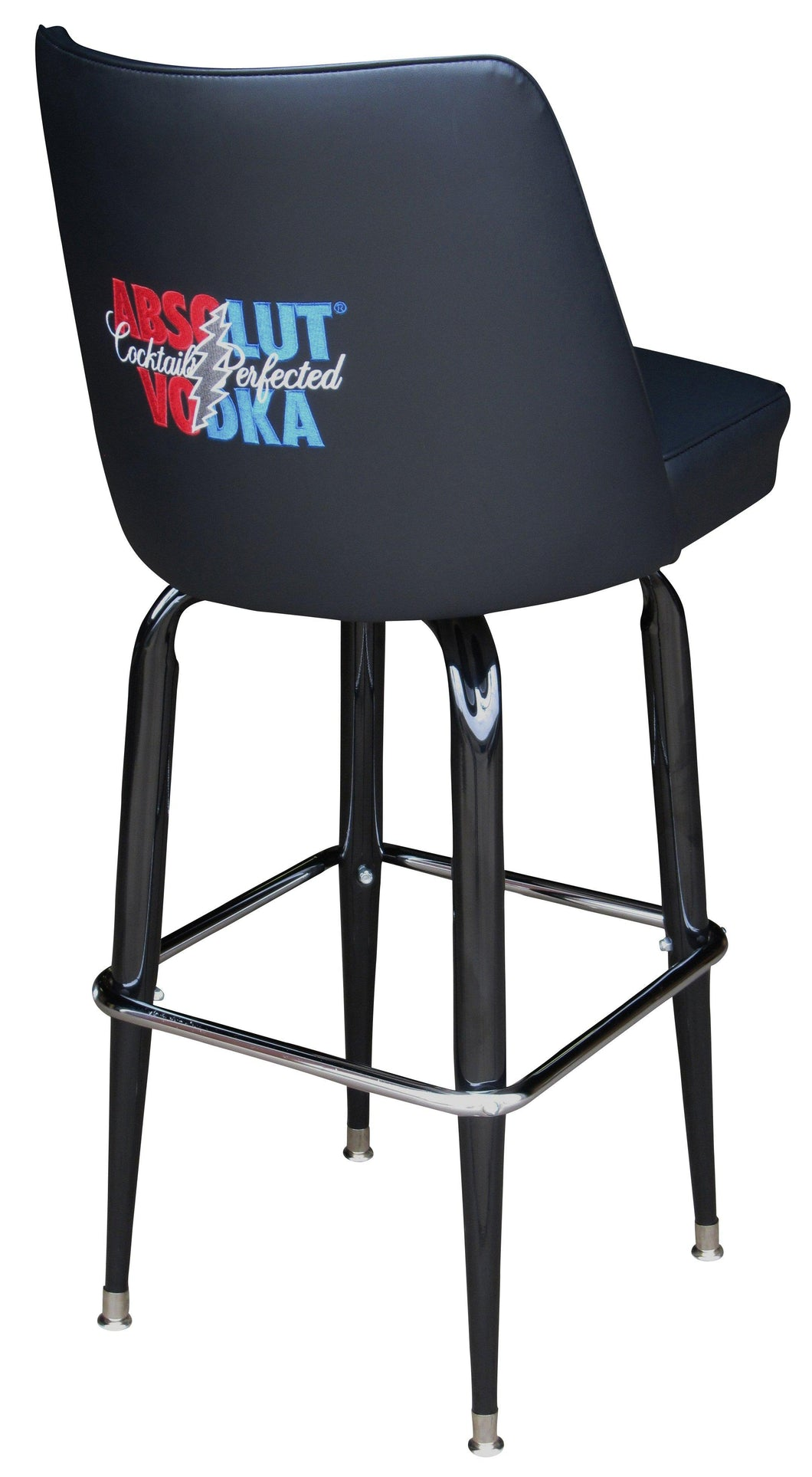 Bar Stool With Embroidered Back-Richardson Seating