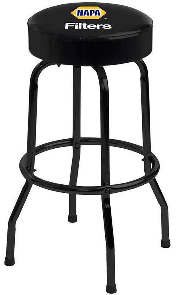 Black Logo Bar Stool - 1950-Richardson Seating