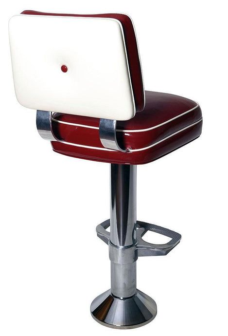 Button Back Bolt Down Stool-Richardson Seating