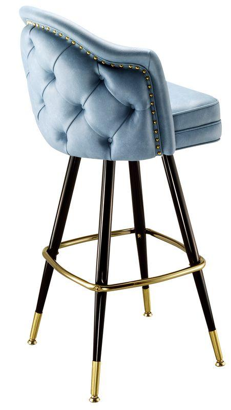 Button Tufted Back Bar Stool-Richardson Seating