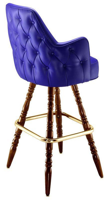 Button Tufted Clean Edge Bar Stool-Richardson Seating