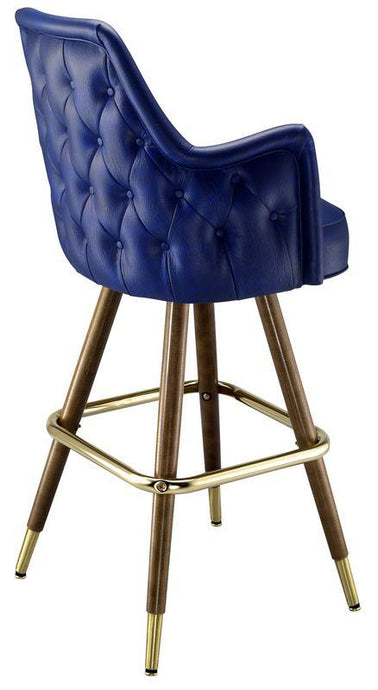 Button Tufted High Back Stool-Richardson Seating