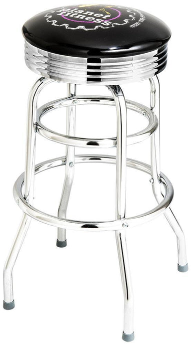 Chrome Logo Bar Stool - 1971-Richardson Seating