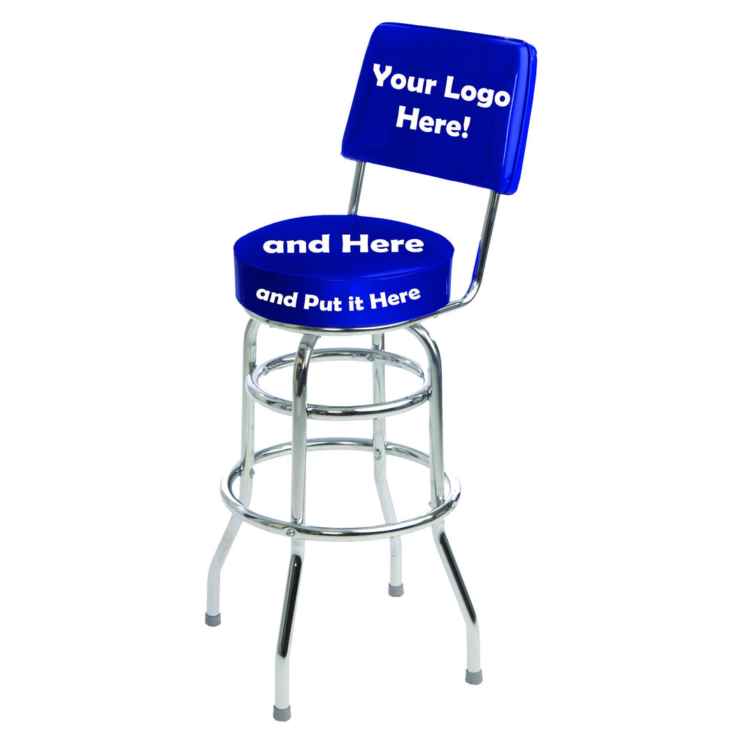 Custom Logo Bar Stool - 1958-Richardson Seating