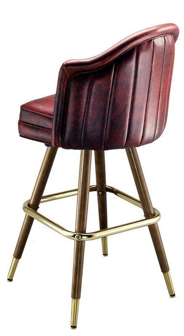 Deluxe Channel Back Bar Stool-Richardson Seating