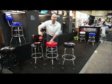 Load and play video in Gallery viewer, Floor Mounted Logo Bar Stool