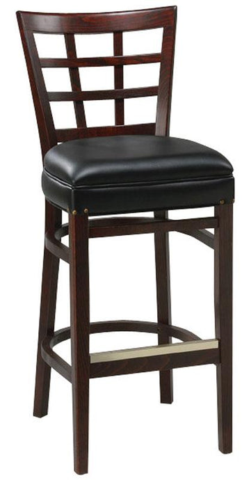 Lattice Back Bar Stool-Richardson Seating