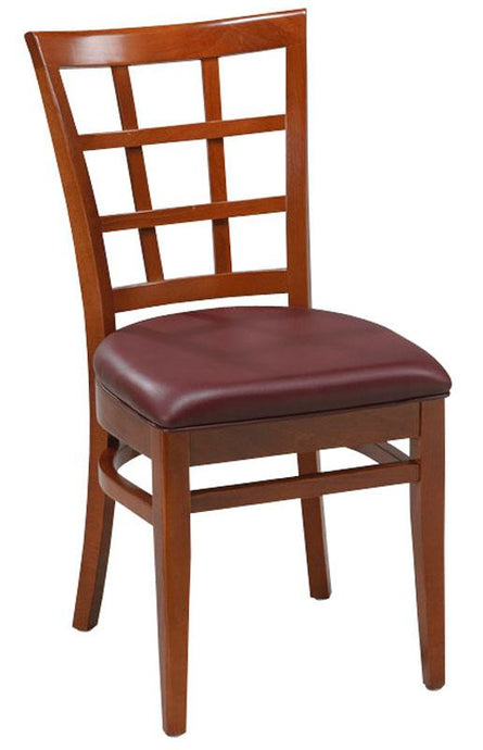 Lattice Back Beech Wood Chair-Richardson Seating
