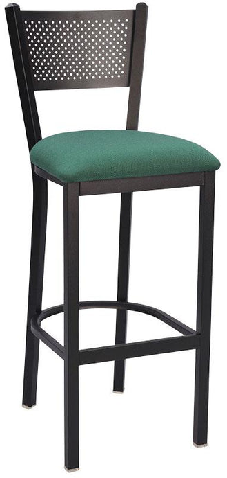 Mesh Back Metal Bar Stool-Richardson Seating