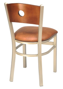 Metal Chair with a Wood Back-Richardson Seating