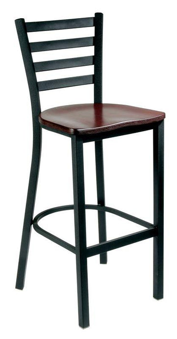Metal Ladder Back Bar Stool-Richardson Seating