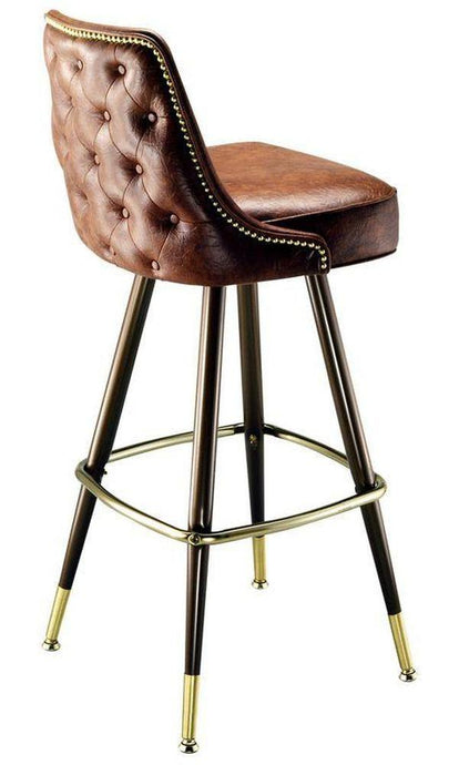 Nail Head Tufted Bar Stool-Richardson Seating