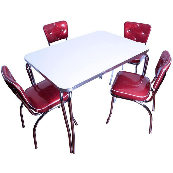 Retro Table and Chair Set-Richardson Seating