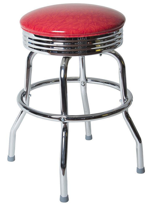 Sing Ring Chrome Stool-Richardson Seating