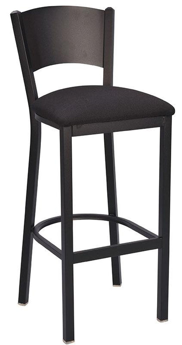 Solid Back Metal Bar Stool-Richardson Seating
