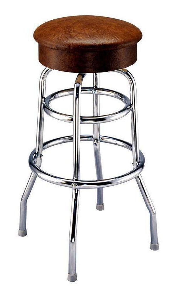 Spring Cushion Seat Bar Stool - 1975-Richardson Seating