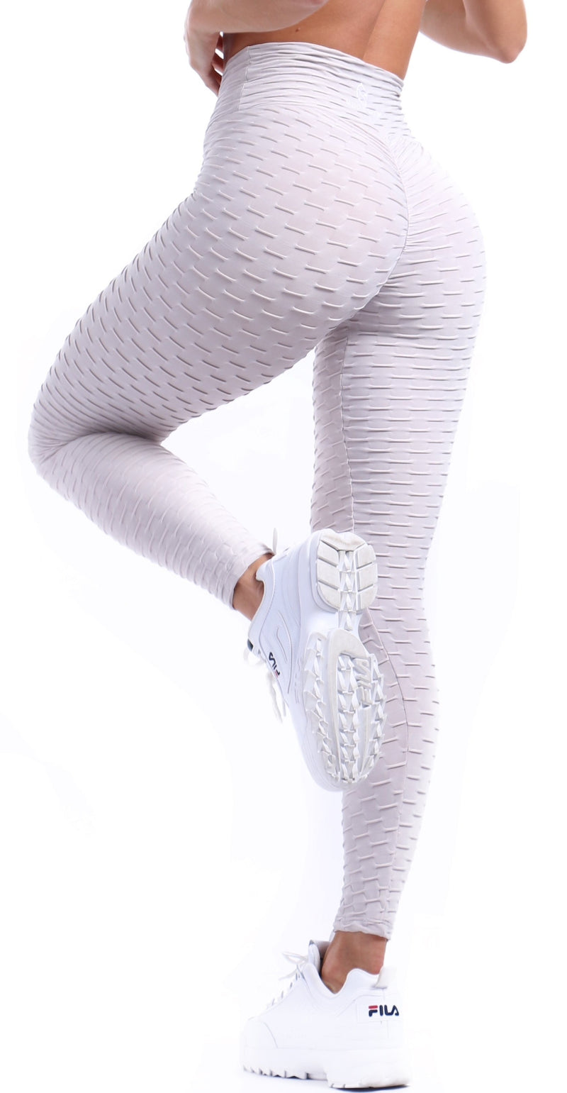 Pale Gray OB Legging - Muscle Sisters