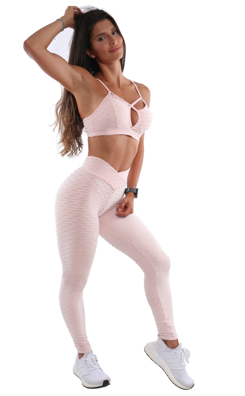 Pink Salt Bubble Legging - Muscle Sisters