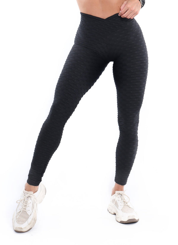 Black Night Out Bubble Legging - Muscle Sisters