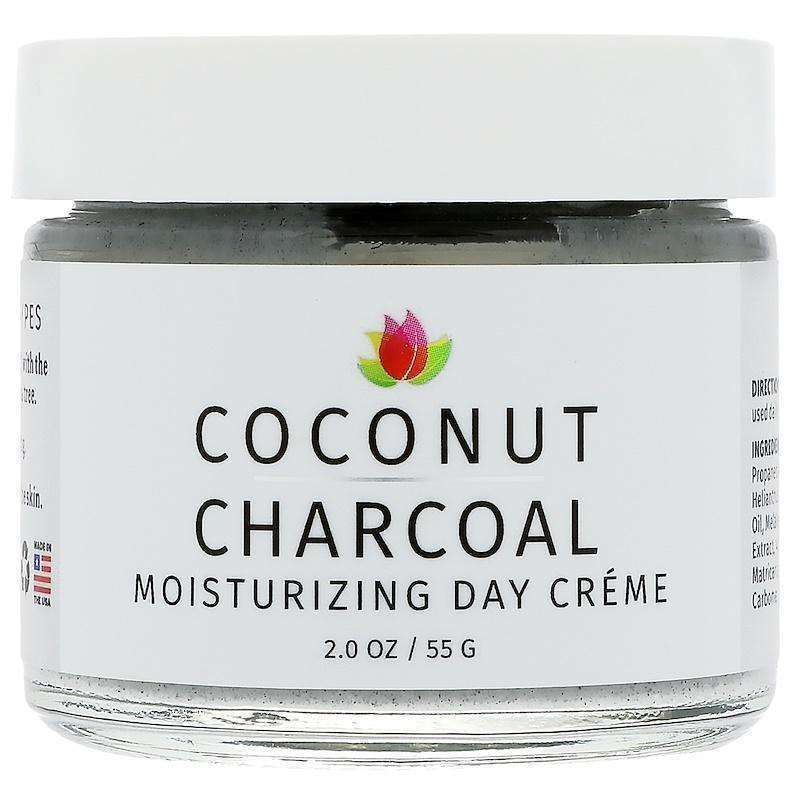 Reviva Labs - Coconut Charcoal Moisturizing Day Crème  -  2 oz (55 g) - AM VITAMINS