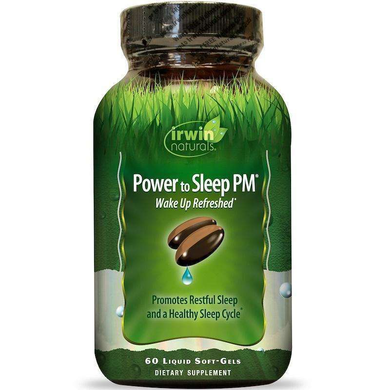 Irwin Naturals - Power To Sleep PM - 60 softgels - AM VITAMINS