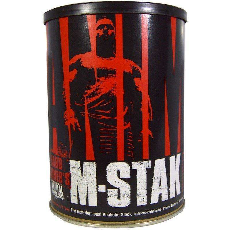 Universal Nutrition - Animal M-Stak, The Non-Hormonal Anabolic Stack - 21 Packs - AM VITAMINS