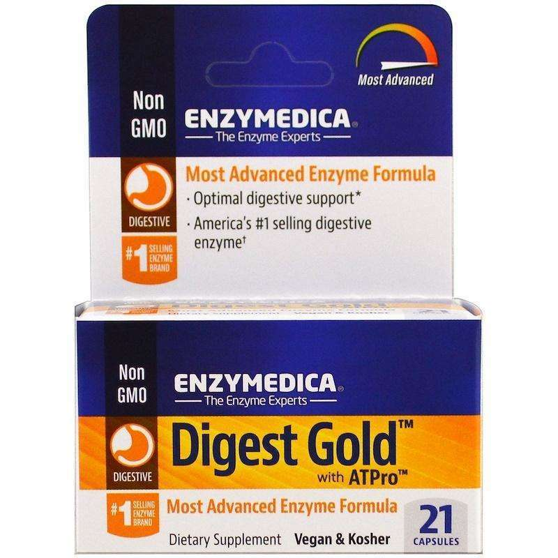 ENZYMEDICA - Digest Gold - 21 Capsules - AM VITAMINS