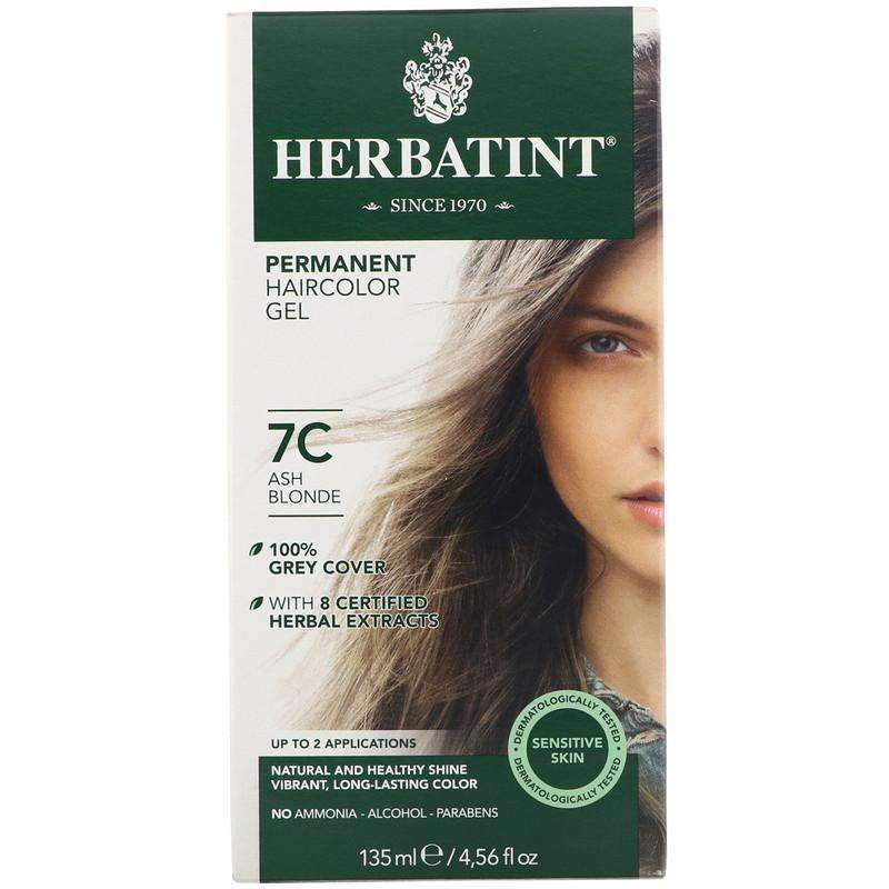Herbatint - Permanent Ash Blonde (7C) - 4 Ounce - AM VITAMINS