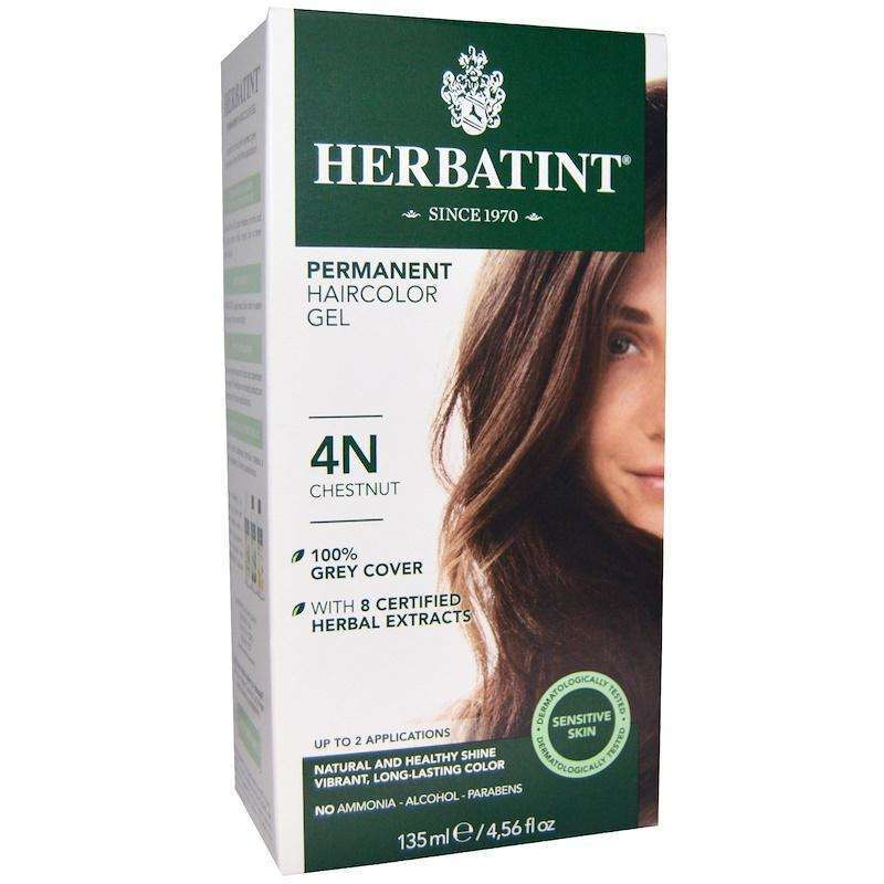 Herbatint - Permanent Chestnut (4N) - 4 Ounce - AM VITAMINS