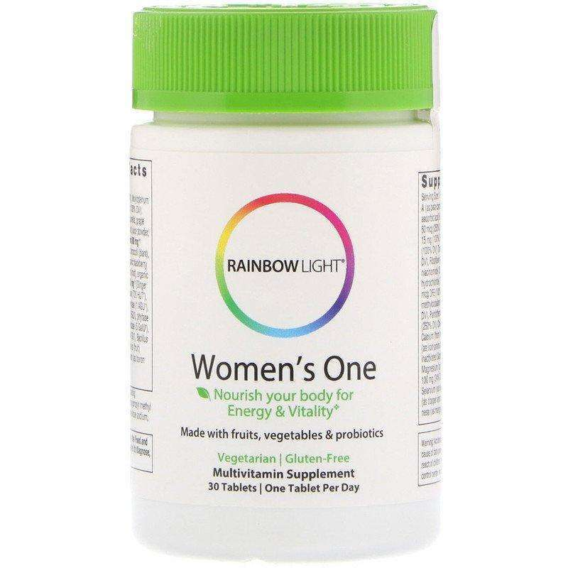 Rainbow Light - Vibrance Women's One Non-GMO - 60 Tablets - AM VITAMINS