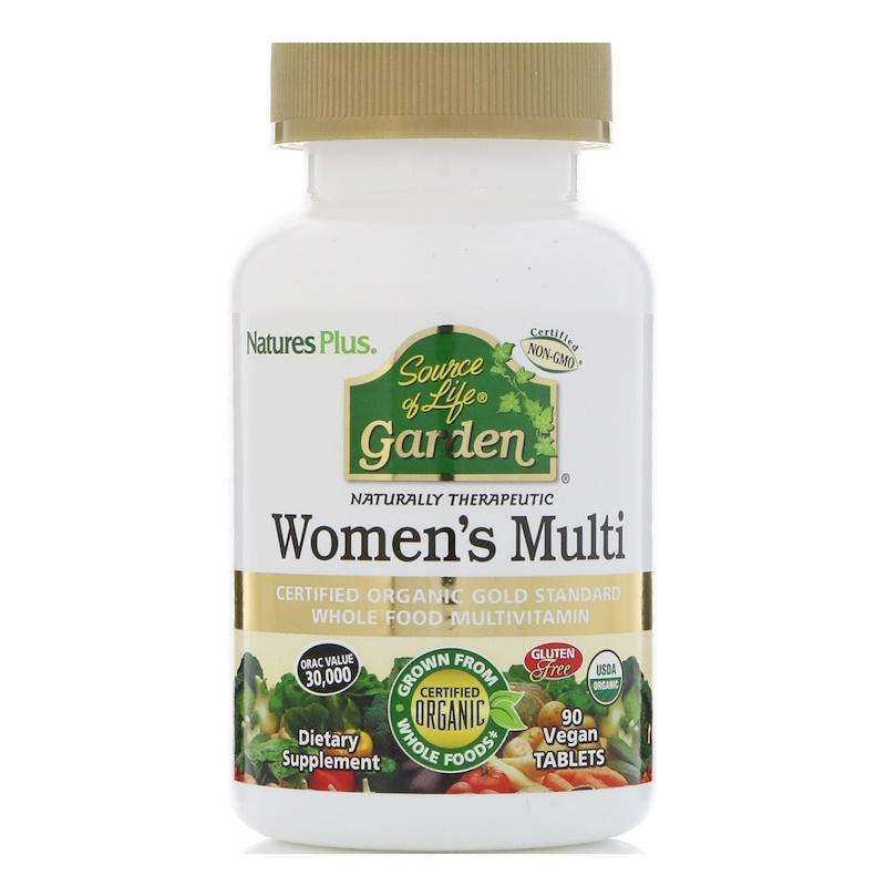 Natures Plus - SOURCE OF LIFE WOMEN'S MULTI - 120 Tablets - AM VITAMINS