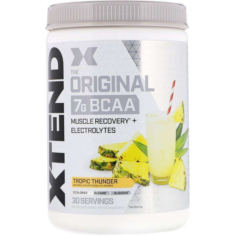 Xtend The Original 7G BCAA, Tropic Thunder - 30 Servings 14.8 oz (420 g) - AM VITAMINS