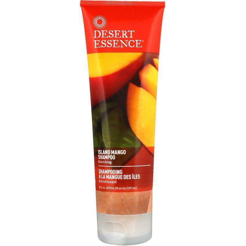 Desert Essence - Shampoo, Enriching Island Mango - 8 fl oz (237 ml) - AM VITAMINS