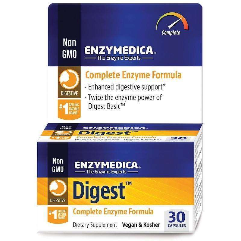 ENZYMEDICA - Digest - 30 Capsules - AM VITAMINS