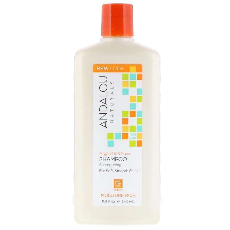 Andalou Naturals - Argan Moisture Rich Shampoo & Sweet Orange - 11.5 Ounce - AM VITAMINS