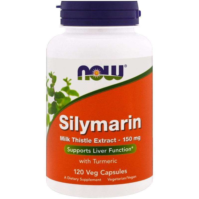 Now Foods - Silymarin, Milk Thistle Extract, 150 mg - 120 Veg Capsules - AM VITAMINS