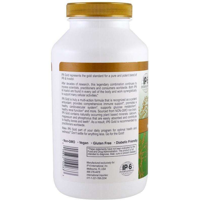 IP-6 International -IP6 Gold, Immune Support Formula -  240 Capsules - AM VITAMINS