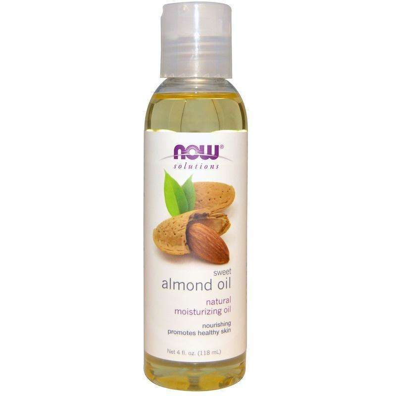 Now Foods - ALMOND OIL - 4 OZ - AM VITAMINS