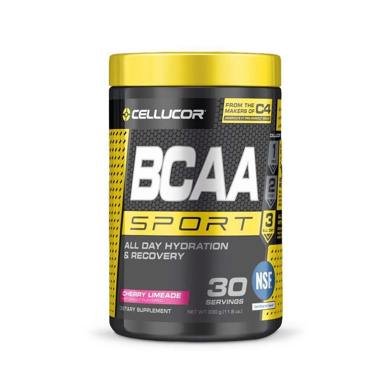 Cellucor - BCAA Sport, All Day Hydration & Recovery, Cherry Limeade - 11.6 oz (330 g) - AM VITAMINS