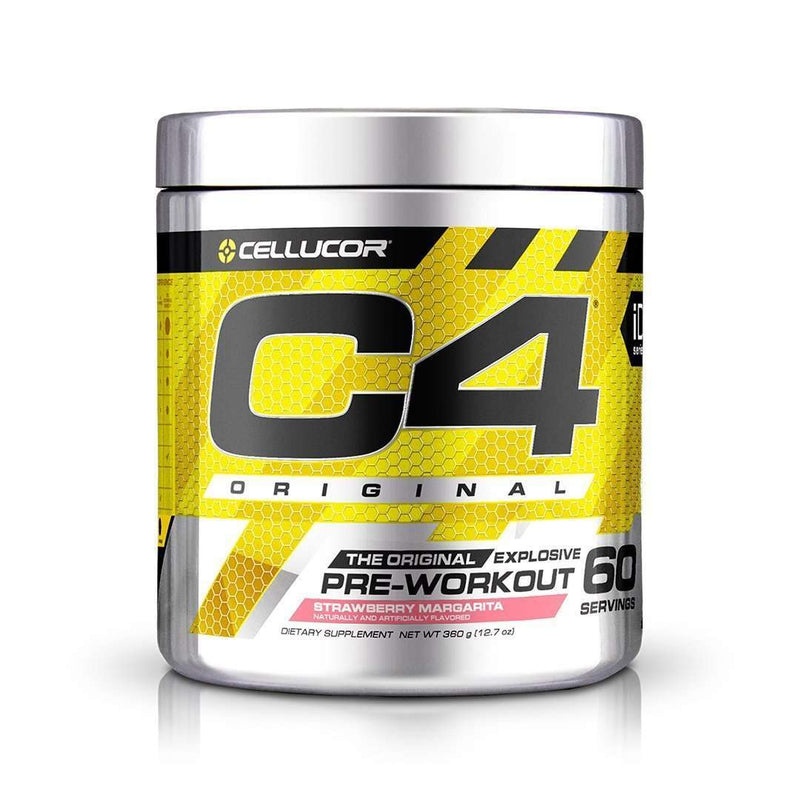 Cellucor - C4 Original Explosive, Pre-Workout, Strawberry Margarita - 13.8 oz (390 g) - AM VITAMINS