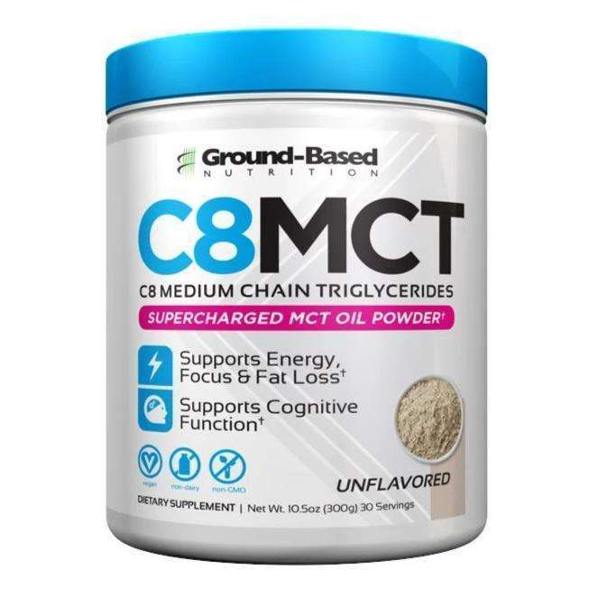 Ground Based - C8 MCT Oil Powder - Unflavored - AM VITAMINS