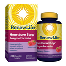 ReNew Life - Heartburn Stop, Raspberry Flavor - 30 Chewable Tablets - AM VITAMINS