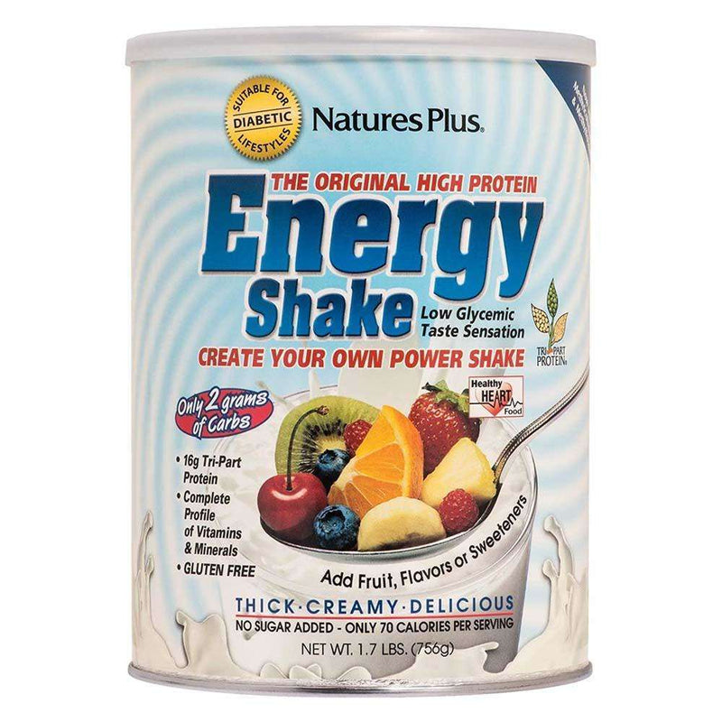Energy The Universal Protein Shake - 1.7 lbs - Natures Plus