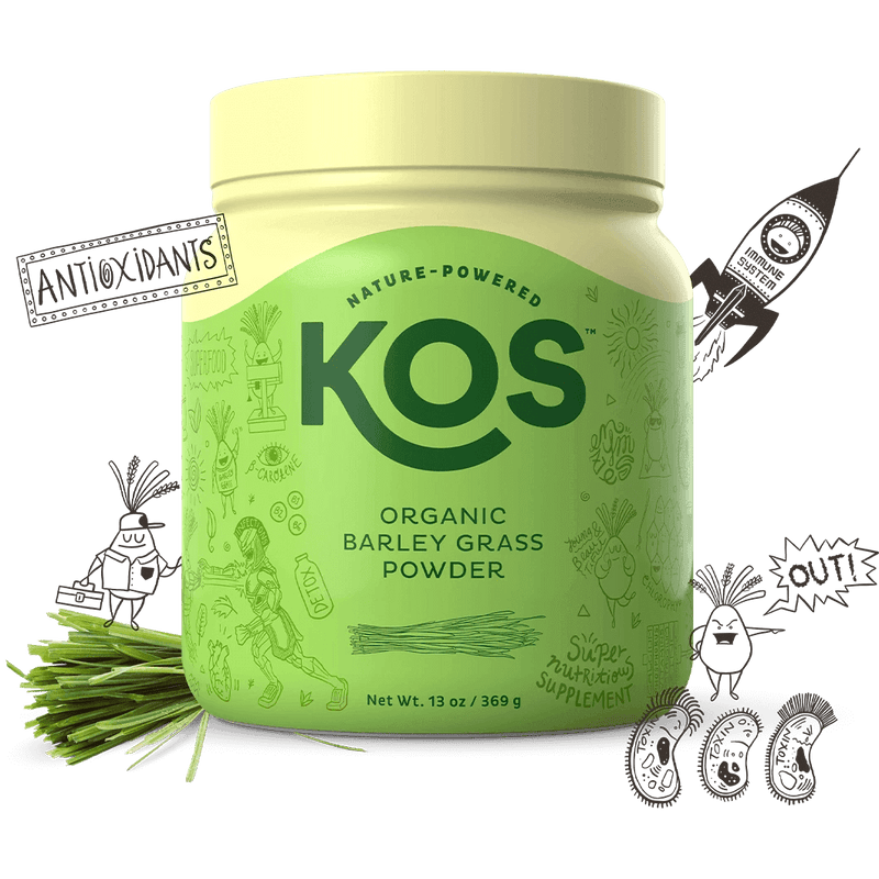 KOS - Organic Barley Grass Powder - AM VITAMINS