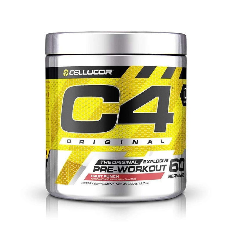 Cellucor - C4 Original Explosive, Pre-Workout, Fruit Punch - 12.7 oz (360 g) - AM VITAMINS